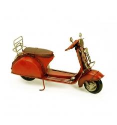 Maqueta moto vespa antigüa