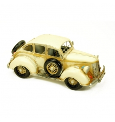 Maqueta coche antigüo metal